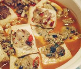 砂锅豆腐酿
