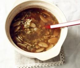 地瓜粉绿豆汤