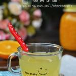 蜂蜜橙子茶