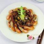干煸蘑菇北極蝦