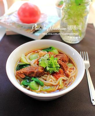 番茄牛腩米线