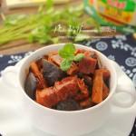 香菇笋干炖五花肉