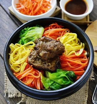 韩式排骨拌饭