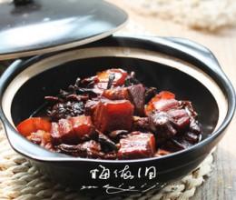 滑子菇红烧肉