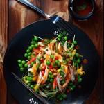 泰式蔬菜雞肉沙拉