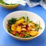 胡萝卜甜橙沙拉