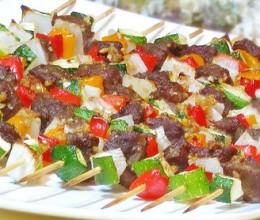 牛肉西葫芦串串香