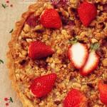 酥脆草莓派