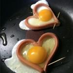 爱心煎鸡蛋