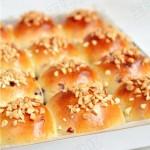 蔓越莓花生小面包
