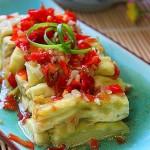 蒜蓉剁椒蒸茄条