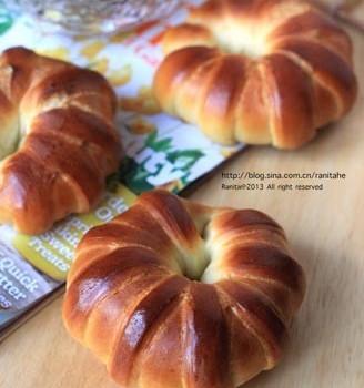 奶酪花形面包