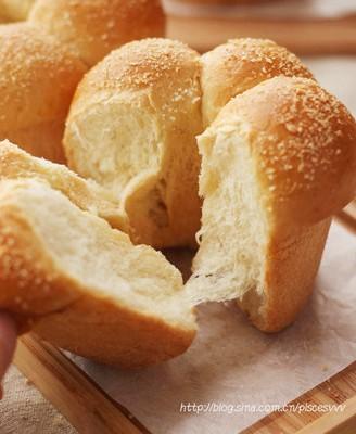 椰蓉花团面包