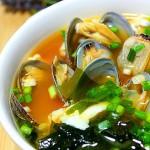 蛤蜊豆腐味噌湯