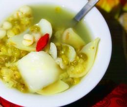 百合绿豆薏米粥