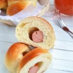热狗肠面包