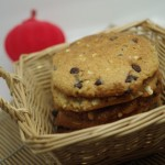燕麦花生饼
