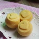 杏仁味蒸蛋糕