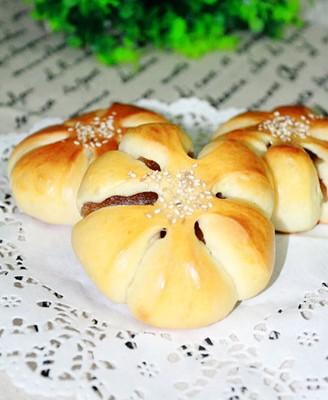 凤梨菊花早餐包
