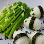 芦笋熊猫饭团