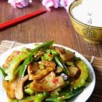 豆豉尖椒回锅肉