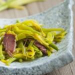 黄花菜炒火腿