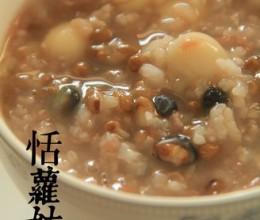 绿豆百合子莲子粥