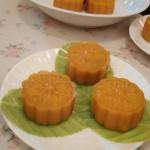 南瓜红豆月饼
