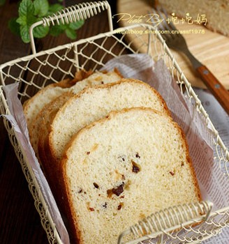 葡萄干吐司面包