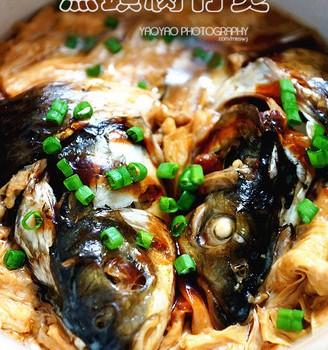 鱼头腐竹煲