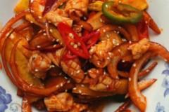韩式凉拌鱿鱼