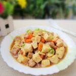 酸梅酱烧老豆腐