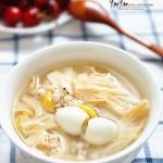 白果薏米腐竹糖水