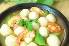丝瓜鱼丸汤