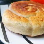 香葱鲜肉蜗牛饼