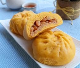 南瓜蜜豆包