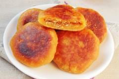 花生芝麻柿子饼