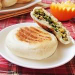 青菜蝦皮餡餅