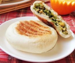 青菜虾皮馅饼