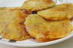 鸡蛋香芋饼
