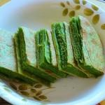 菠菜千层饼
