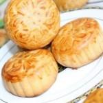凤梨豆沙月饼