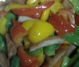 彩椒猪颈肉