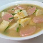 火腿豆腐汤