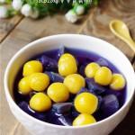紫薯金瓜圆