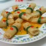 煎白萝卜卷肉