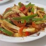 河蝦豆腐絲