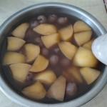 紅豆龍眼煮蘋果
