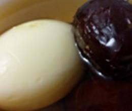红枣鸡蛋糖水