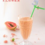 木瓜紅柚酸奶